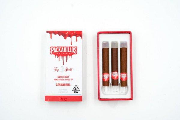 Packwoods Packarillos Strawnana