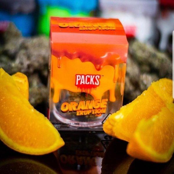 Packwoods-orange eruption